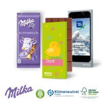 Schokoladentafel von Milka, 40 g