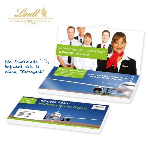 "Schoko-Grußkarte ""Lindt Excellence"" title="