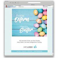 E-Card Das Bunte vom Ei