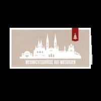 Skyline modern - Wiesbaden