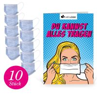"Care Paket ""Basic"": 10x Einwegmaske"