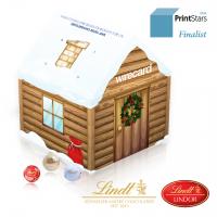 """Adventskalender """"Weihnachtshaus"""" Lindt"""