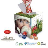 Cube Adventskalender Lindt mit Weihnachtsmann
