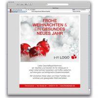 E-Card Weihnachtskugel 02