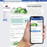 "Facebook-Titelbild ""Weihnachtskugel 01"""