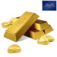 Du bist Gold wert – Lindt Goldbarren