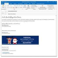 """E-Mail-Signatur """"Weihnachtsteam"""""""