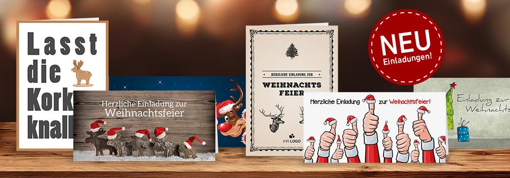 Weihnachtsfeier Einladungen