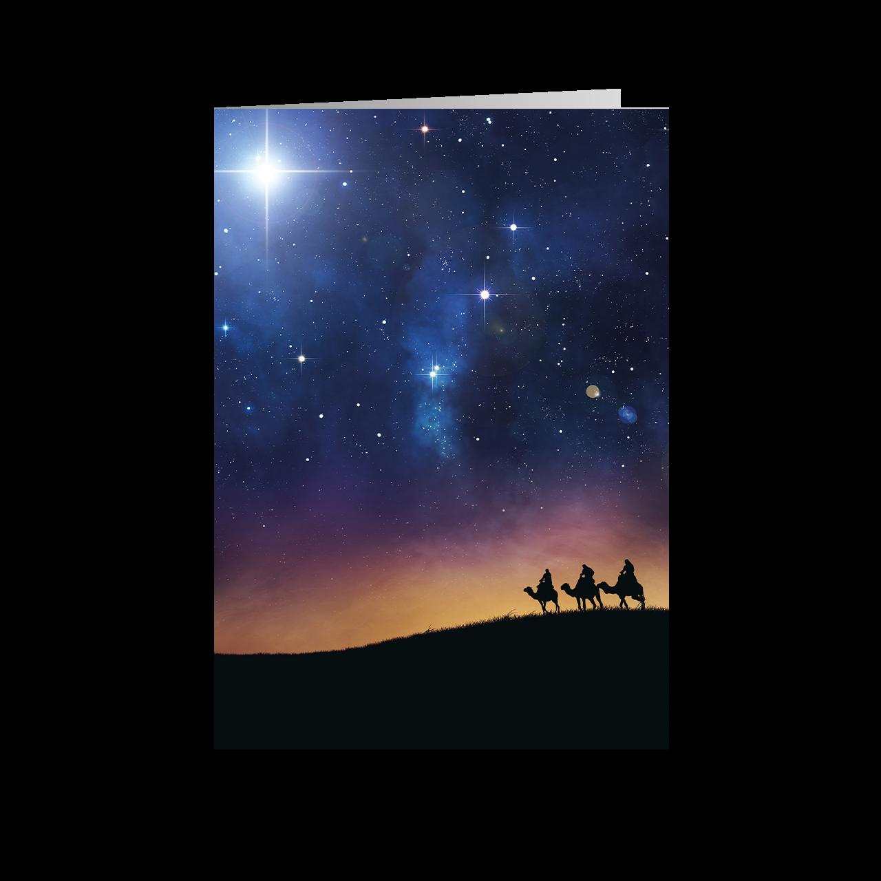 Konige Der Finsternis Karte.Weihnachtskarte Heilige Drei Konige Weihnachtsplaner