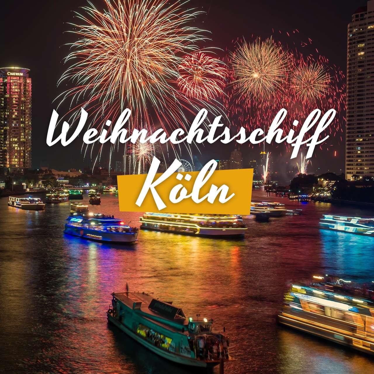 Weihnachtsfeier Schiff Köln.Weihnachtsschiff Köln