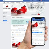 "Facebook-Titelbild ""Weihnachtskugel 02"""