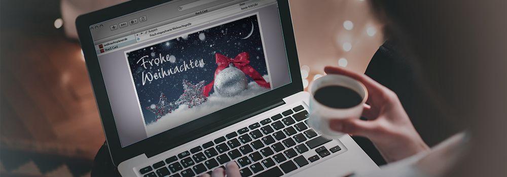 Digitale Weihnachtskarten.Elektronische Weihnachtskarten E Cards Zu Weihnachten