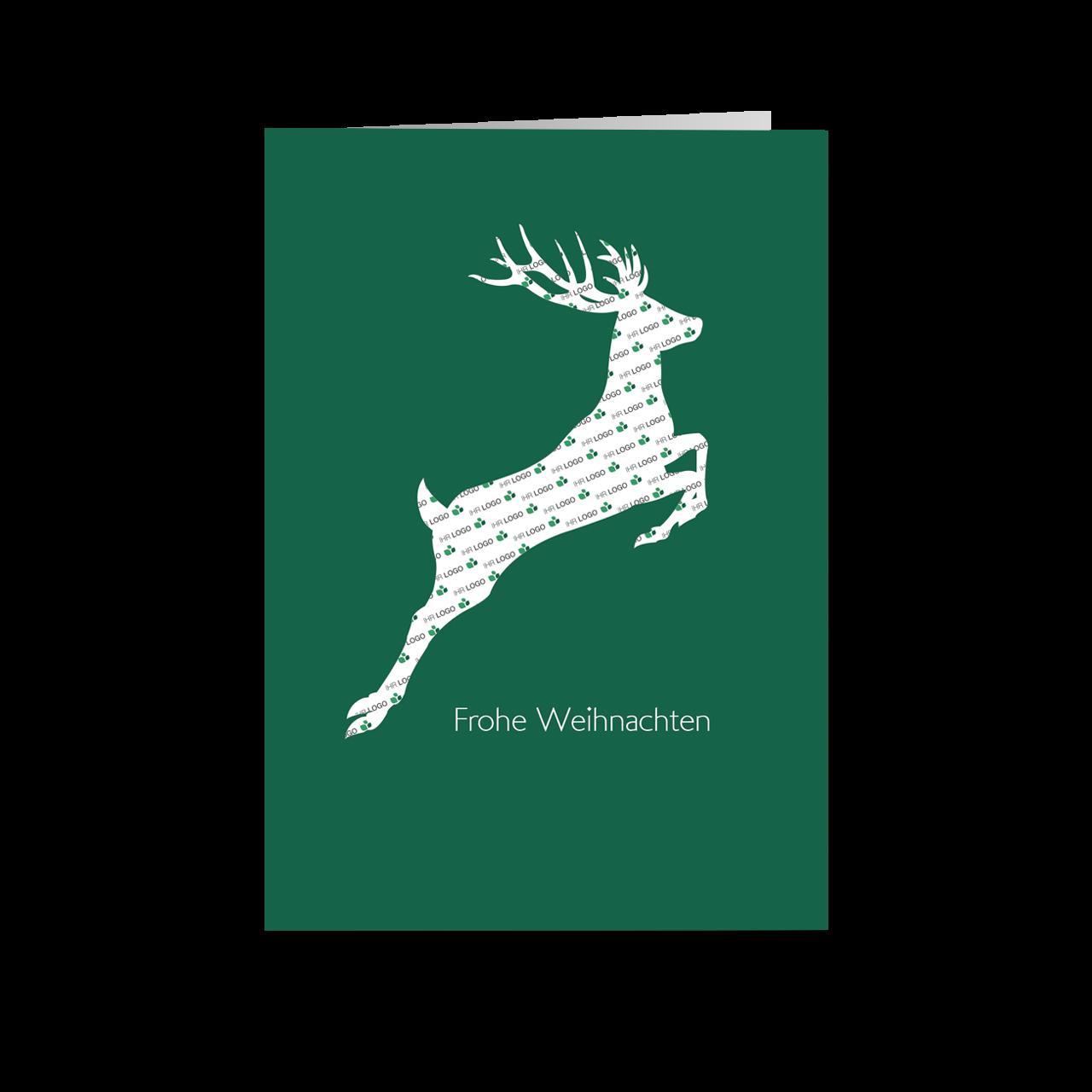Schnittmuster - Hirsch