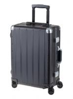 Aluminium Reisekoffer, schwarz