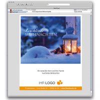 E-Card Leuchtende Weihnachten