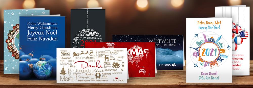 Unsere internationalen Weihnachtskarten