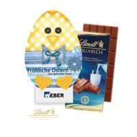 Schokoladentafel Osterhase oder Osterei