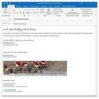 "E-Mail-Signatur ""Eine Richtung"""