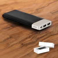 Powerbank Leder Design