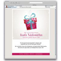 E-Card Sanfte Weihnachten