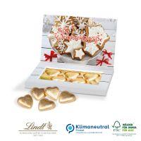 Schokolade in Präsentbox Business - Herzen