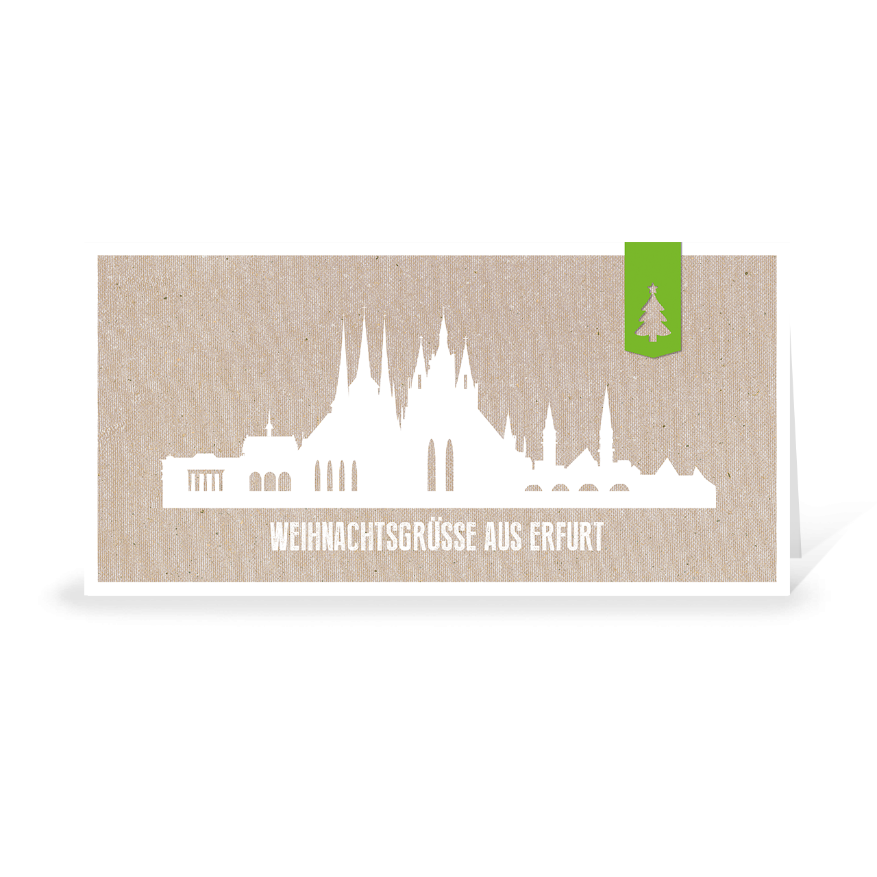 Skyline modern - Erfurt