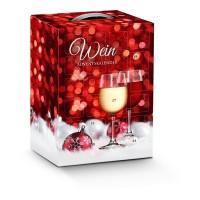Wein- Adventskalender hochkant