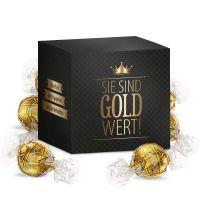 Sie sind Gold wert XL – Lindt Lindor