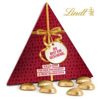Du bist ein Geschenk – Lindt Pyramide