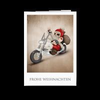 Santa Active - Biker