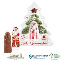 Weihnachtsbaum mit Lindt Weihnachtsmann