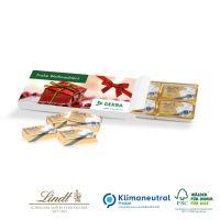 Schokolade in Präsentbox Täfelchen im Formteil