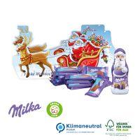 Präsent Schlitten Milka