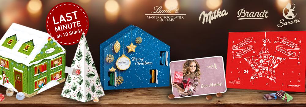 Werbe Adventskalender Als Weihnachtskalender Für Firmen Individuell