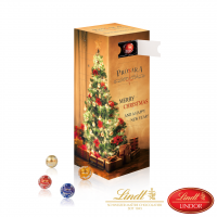 Mini-Kugeln Tower-Adventskalender Lindt