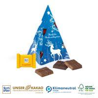 """Präsent """"Weihnachtsbaum"""" mit Rittersport"""