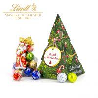 Sie sind Weihnachten – Lindt Tannenbaum