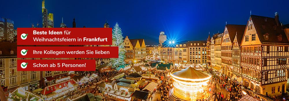Weihnachtsfeier Ideen 2019.Ideen Für Weihnachtsfeiern In Frankfurt 2019 Weihnachtsplaner