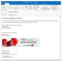 "E-Mail-Signatur ""Weihnachtskugel 02"""