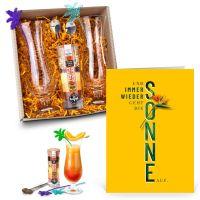"""Summer-Set """"Tequila Sunrise"""" mit Mutmach-Karte"""