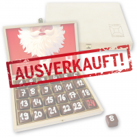 Dominostein Adventskalender