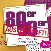 Die 80er/90er Weihnachtsdinnershow Berlin
