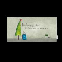"""Einladungskarte """"Baumgeschichten 02"""""""