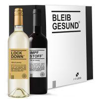 Lockdown & Impfstoff – Das Weingeschenkset