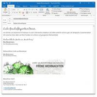 "E-Mail-Signatur ""Weihnachtskugel 01"""