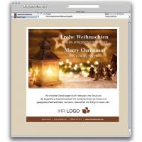 E-Card Laternenlandschaft