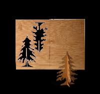 Zedernholz Tanne