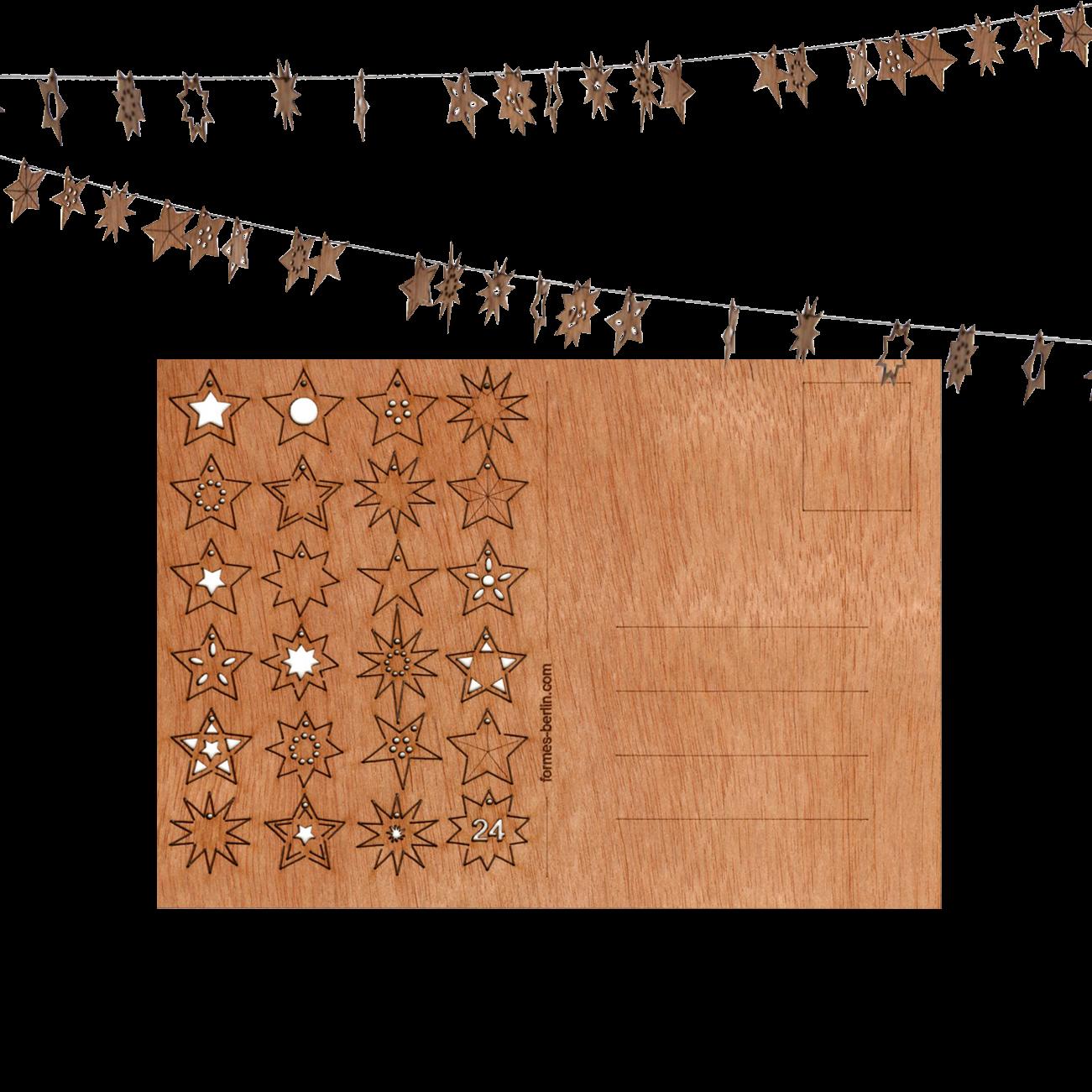 Firmen Weihnachtskarten Aus Holz Mit Logo Weihnachtsplaner