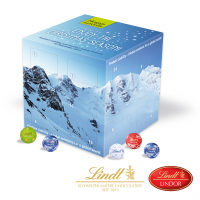 """Adventskalender """"Cube"""" Lindt"""