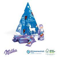 """Präsent """"Weihnachtsbaum"""" mit Milka"""